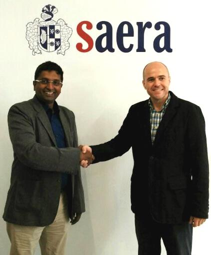 Educational Cooperation Agreement between SAERA y Dhwani Aurica PVT LTD