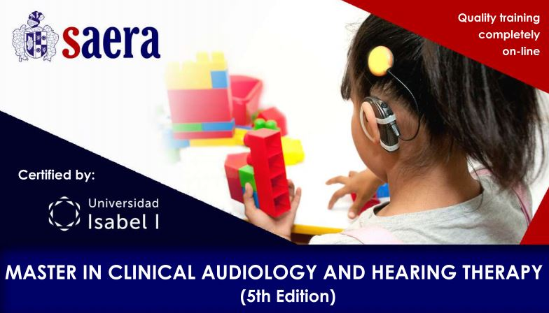 Online Master in Clinical Audiology and Hearing Therapy